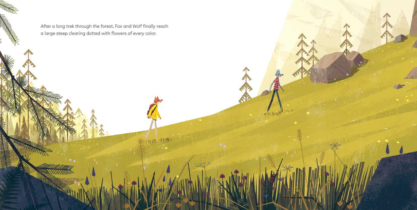 celebrate-picture-books-picture-book-review-the-golden-glow-crossing-meadow