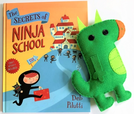 celebrate-picture-books-picture-book-review-the-secrets-of-ninja-school-book-and-dragon-craft
