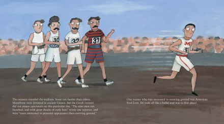 celebrate-picture-books-picture-book-review-the-wildest-race-ever-fred-lorz