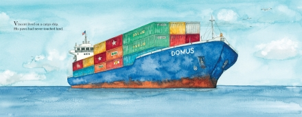 celebrate-picture-books-picture-book-review-vincent-comes-home-cargo-ship