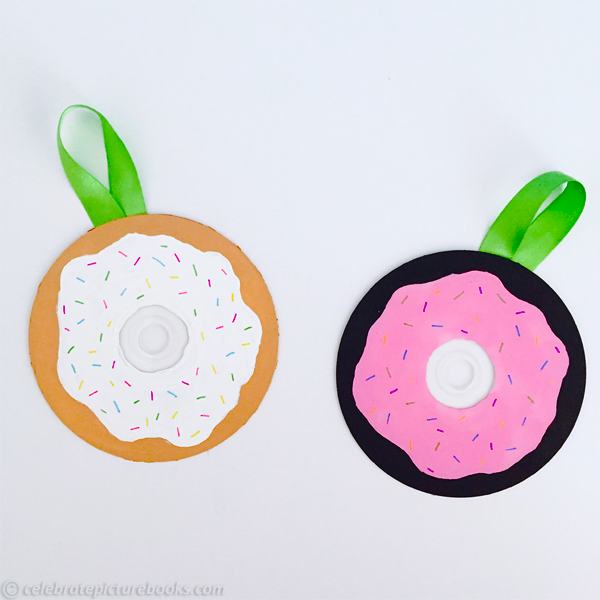 celebrate-picture-books-picture-book-review-cd-doughnut-craft