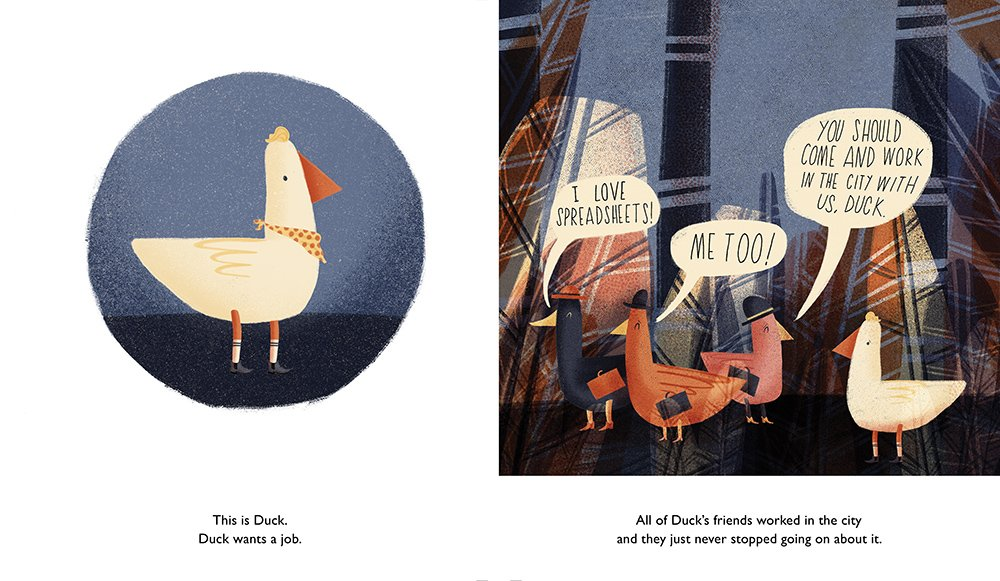 celebrate-picture-books-picture-book-review-duck-gets-a-job-friends