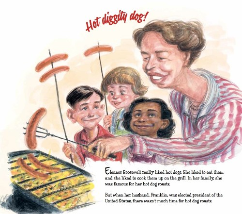 celebrate-picture-books-picture-book-review-hot-dog-eleanor-roosevelt-throws-a-picnic-kids