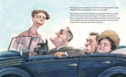 celebrate-picture-books-picture-book-review-hot-dog-eleanor-roosevelt-throws-a-picnic-king-and-queen
