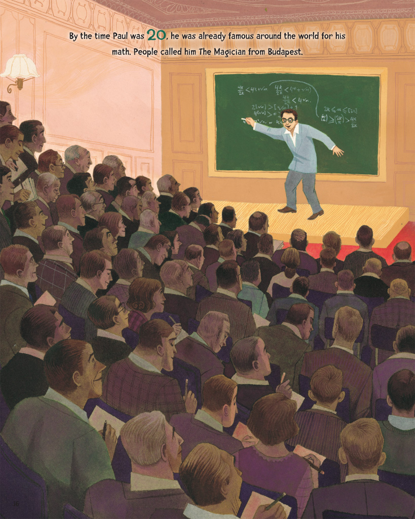 celebrate-picture-books-picture-book-review-the-boy-who-loved-math-the-improbable-life-of-paul-erdos-teacher-paul