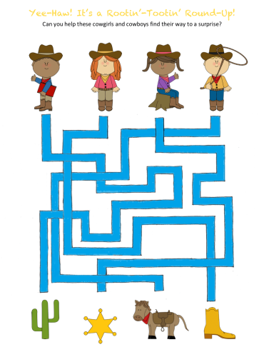 celebrate-picture-books-picture-book-review-rootin'-tootin'-round-up-maze