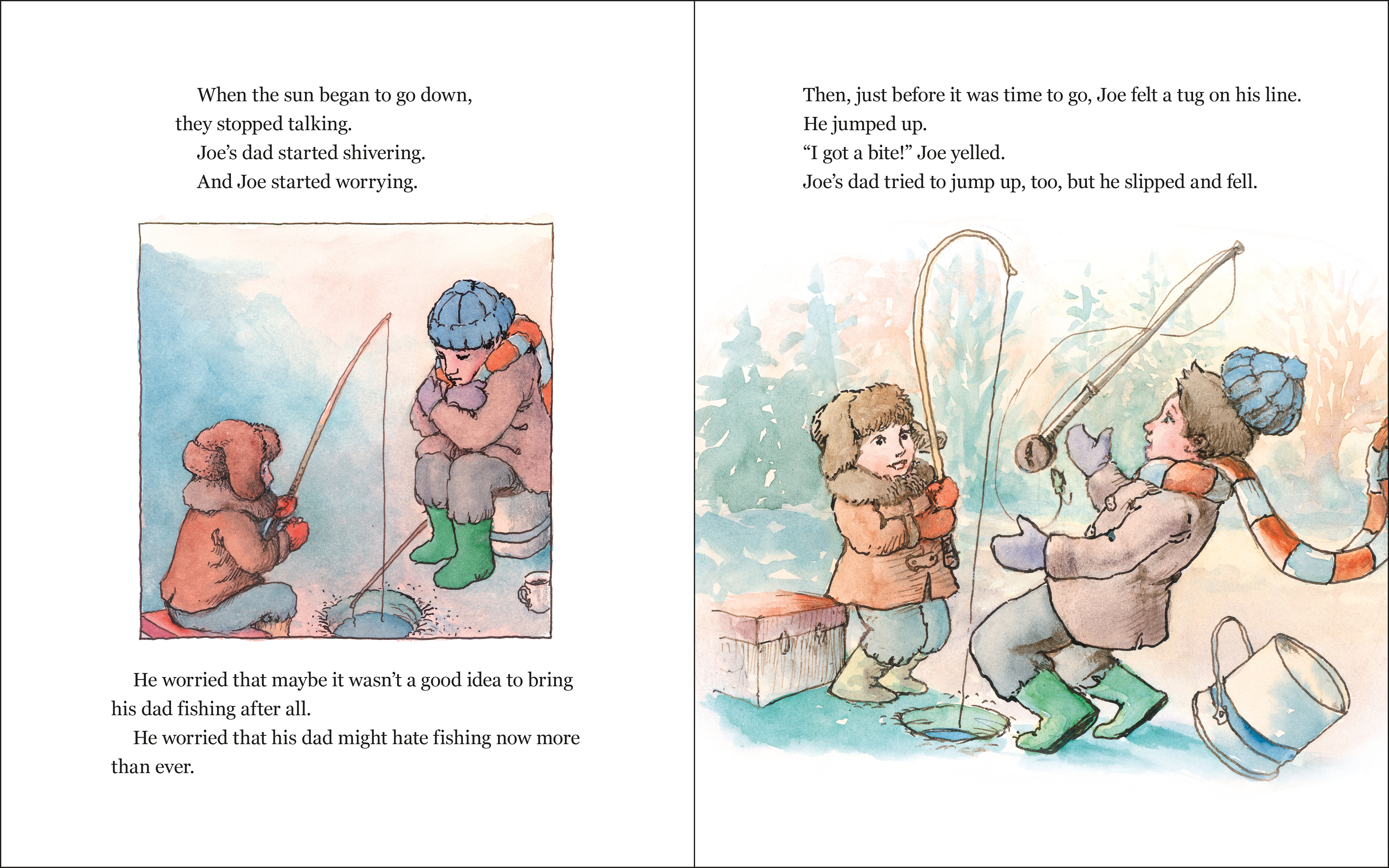 celebrate-picture-books-picture-book-review-hooked-ice-fishing
