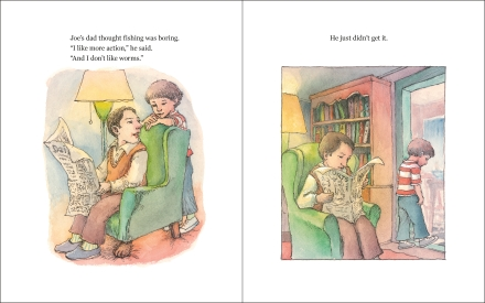 celebrate-picture-books-picture-book-review-hooked-Joe-asks-dad