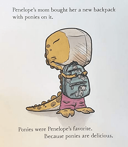 celebrate-picture-books-picture-book-review-we-don't-eat-our-classmates-backpack