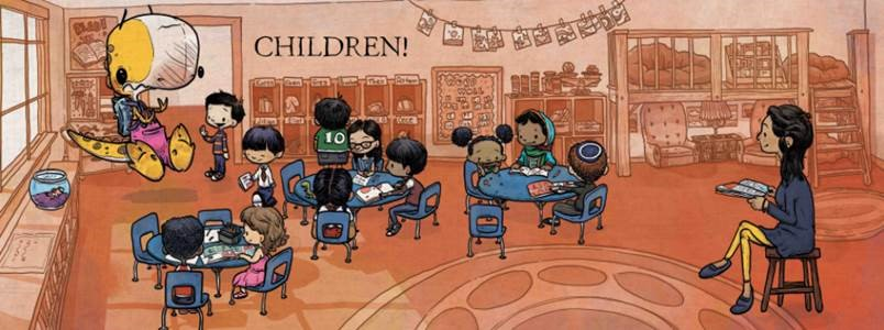 celebrate-picture-books-picture-book-review-we-don't-eat-our-classmates-children