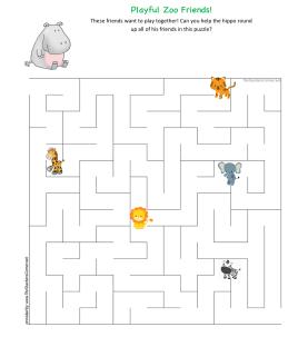celebrate-picture-books-picture-book-review-zoo-friends-maze