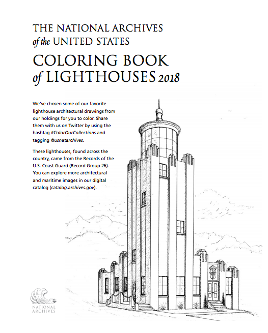 celebrate-picture-books-picture-book-review-national-archives-lighthouse-coloring-book-2018