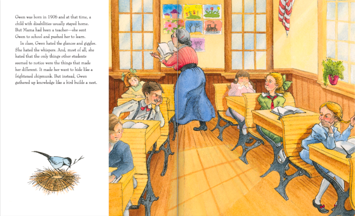 celebrate-picture-books-picture-book-review-nature's-friend-the-gwen-frostic-story-school