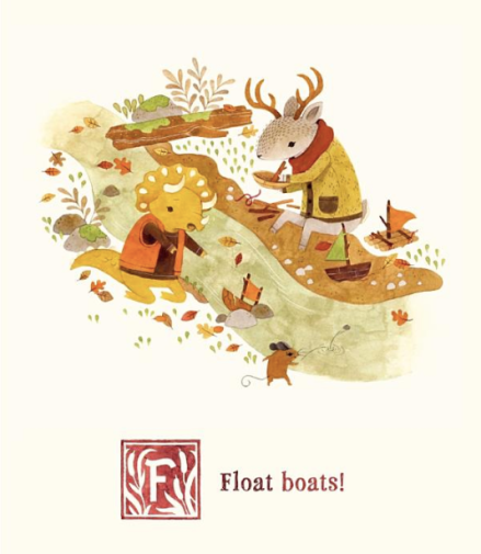 celebrate-picture-books-picture-book-review-adventures-with-barefoot-critters-a-float-boats