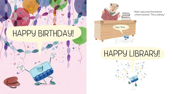 celebrate-picture-books-picture-book-review-a-big-surprise-for-little-card-happy-library