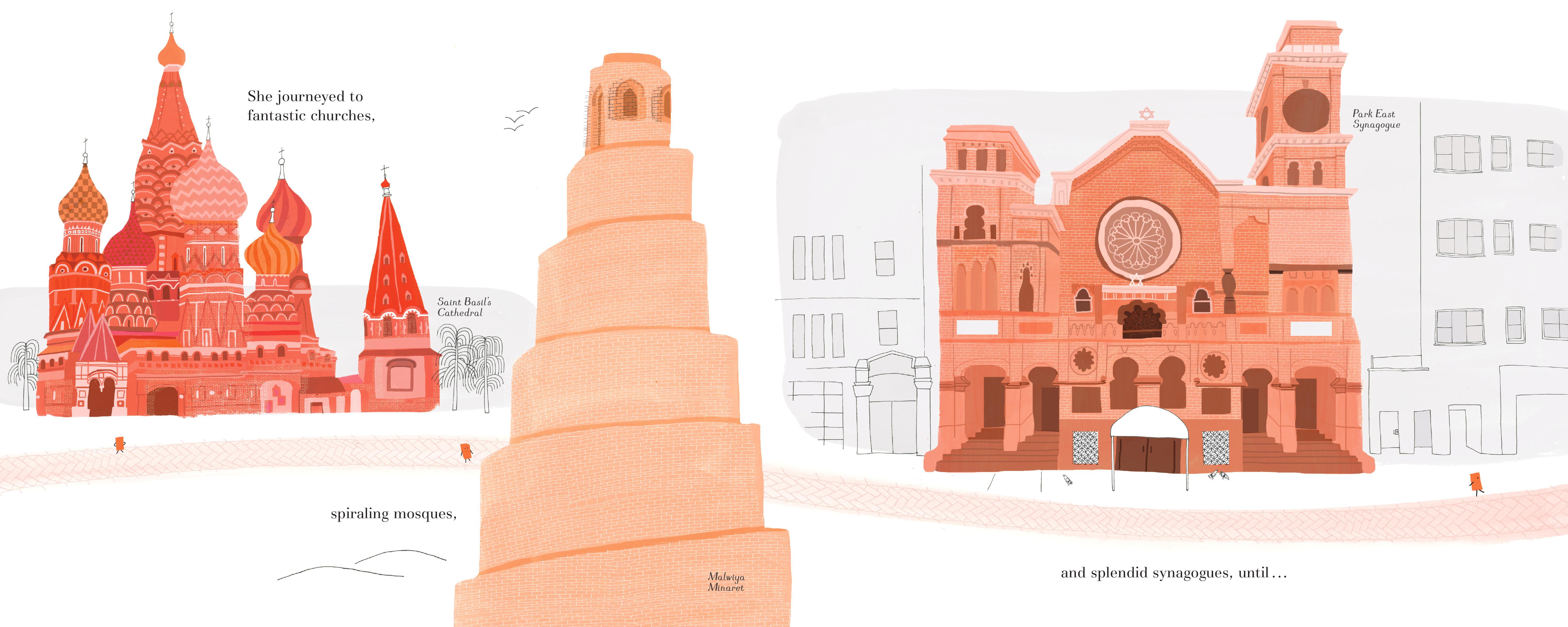 celebrate-picture-books-picture-book-review-brick-who-found-herself-in-architecture-churches