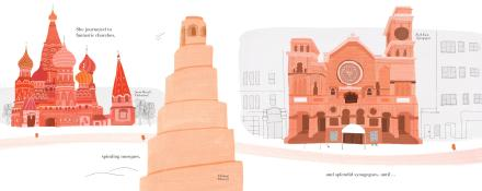 celebrate-picture-books-picture-book-review-brick-who-found-herself-in-architecture-churches