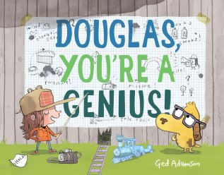 celebrate-picture-books-picture-book-review-douglas-you're-a-genius-cover