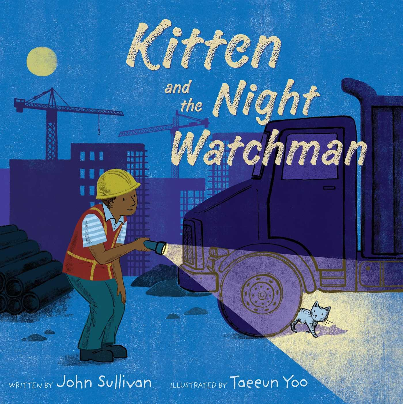 celebrate-picture-books-picture-book-review-kitten-and-the-night-watchman-cover