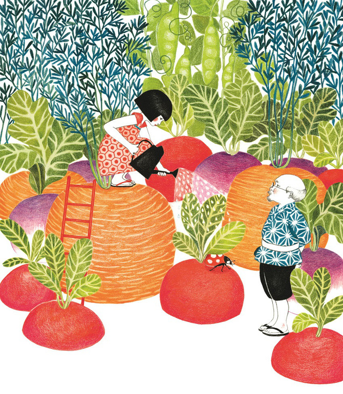 celebrate-picture-books-picture-book-review-time-for-bed-miyuki-vegetable-garden