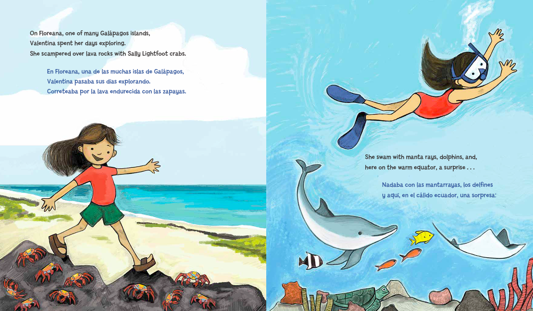 celebrate-picture-books-picture-book-review-Galápagos-Girl-crabscelebrate-picture-books-picture-book-review-Galápagos-Girl-crabs