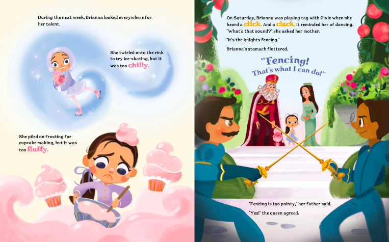 celebrate-picture-books-picture-book-review-brianna-bright-ballerina-knight-discovers-fencing