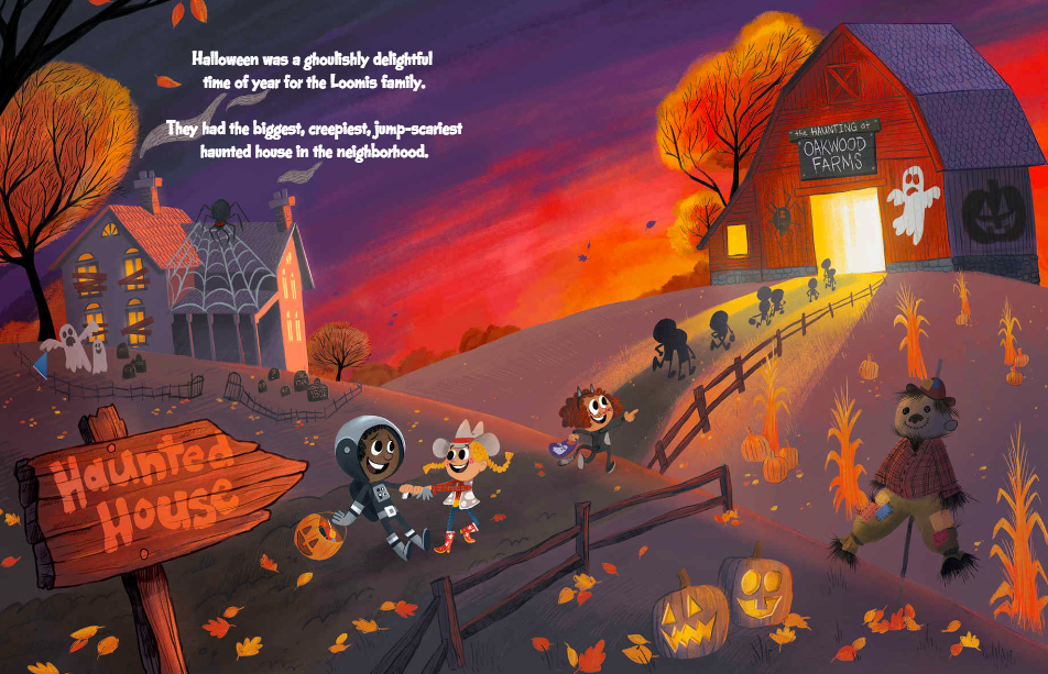 celebrate-picture-books-picture-book-review-sammy's-spooktacular-halloween-haunted-barn