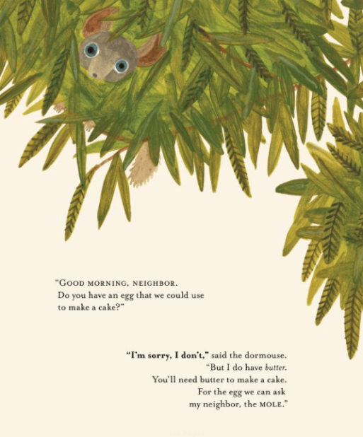 celebrate-picture-books-picture-book-review-good-morning-neighbor-dormouse-tree