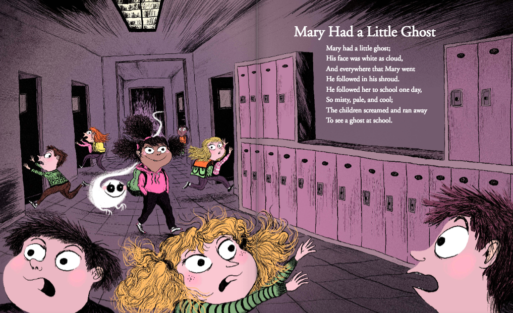 celebrate-picture-books-picture-book-review-mother-ghost-Mary-had-a-little-ghost