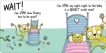 celebrate-picture-books-picture-book-review-roary-the-lion-roars-too-loud-quiet-voice