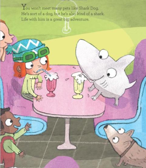 celebrate-picture-books-picture-book-review-shark-dog-and-the-school-trip-rescue-diner