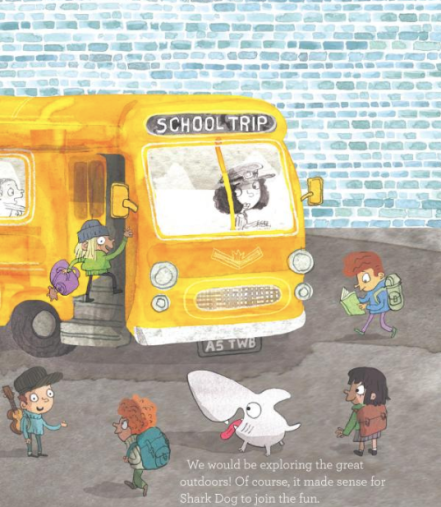 celebrate-picture-books-picture-book-review-shark-dog-and-the-school-trip-rescue-bus