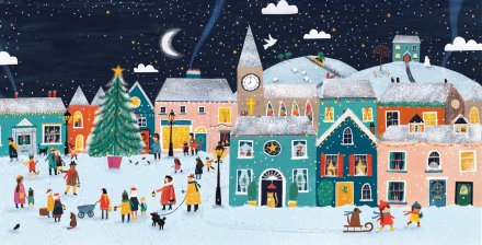 celebrate-picture-books-picture-book-review-a-christmas-advent-story-caroling