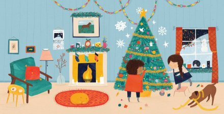 celebrate-picture-books-picture-book-review-a-christmas-advent-story-tree-decorating