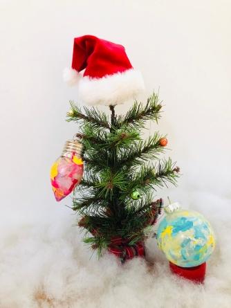 Nail Polish Dipped Ornaments