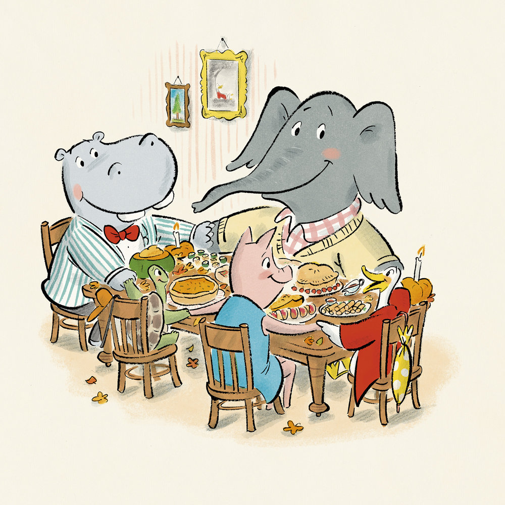 celebrate-picture-books-picture-book-review-duck-and-hippo-give-thanks-friends