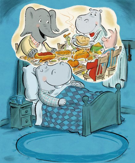 celebrate-picture-books-picture-book-review-duck-and-hippo-give-thanks-hippo-dreaming