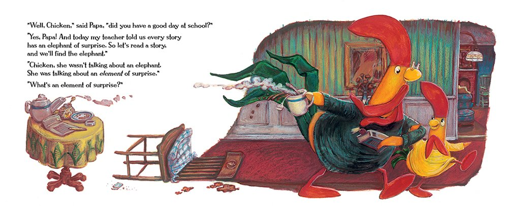 celebrate-picture-books-picture-book-review-interrupting-chicken-and-the-elephant-of-surprise-go-read