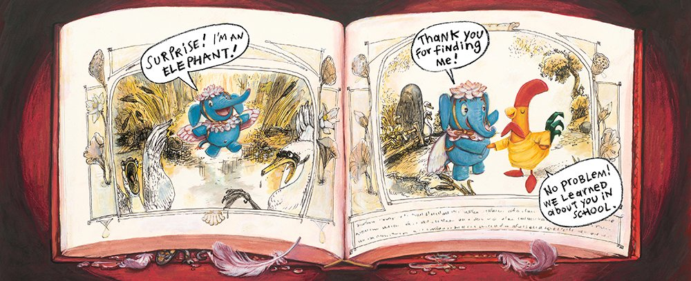 celebrate-picture-books-picture-book-review-interrupting-chicken-and-the-elephant-of-surprise-ugly-duckling