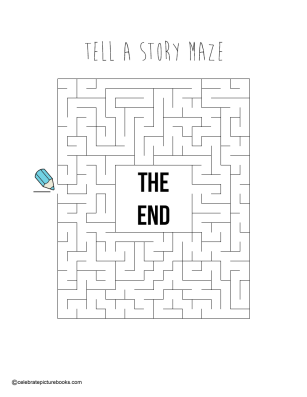 celebrate-picture-books-picture-book-review-tell-a-story-maze