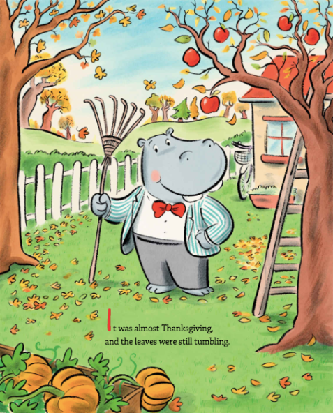 celebrate-picture-books-picture-book-review-duck-and-hippo-give-thanks-leaves-falling