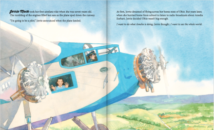 celebrate-picture-books-picture-book-review-aim-for-the-skies-Jerrie-Mock