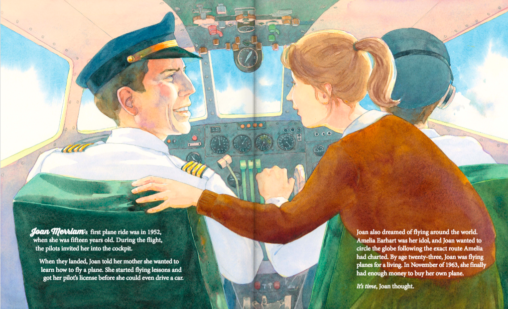 celebrate-picture-books-picture-book-review-aim-for-the-skies-Joan-Merriam