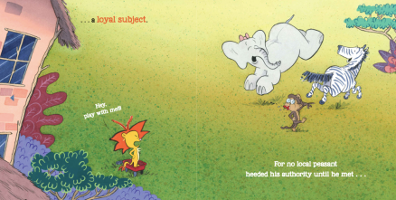 celebrate-picture-books-picture-book-review-king-ben-and-sir-rhino-meets-loyal-subject