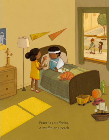 celebrate-picture-books-picture-book-review-peace-is-an-offering-broken-arm
