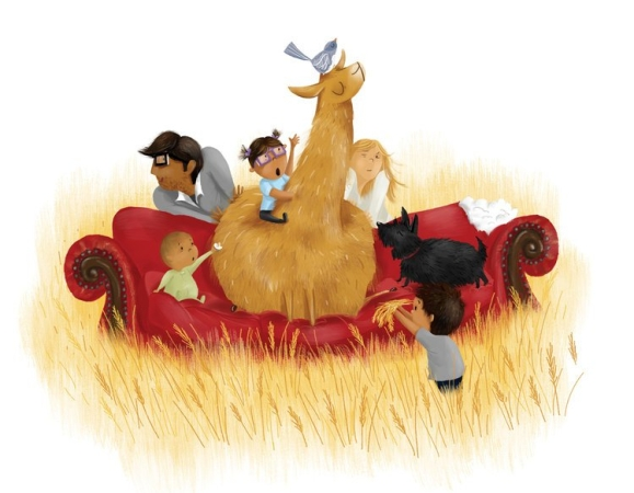celebrate-picture-books-picture-book-review-a-couch-for-llama-won't-move
