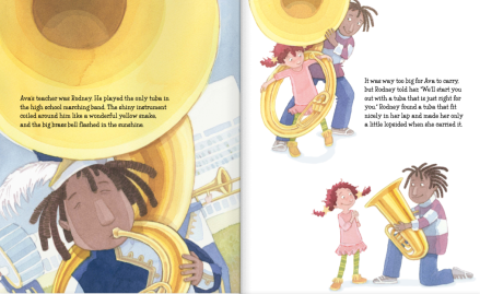 celebrate-picture-books-picture-book-review-a-tuba-christmas-rodney