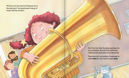celebrate-picture-books-picture-book-review-a-tuba-christmas-gets-tuba