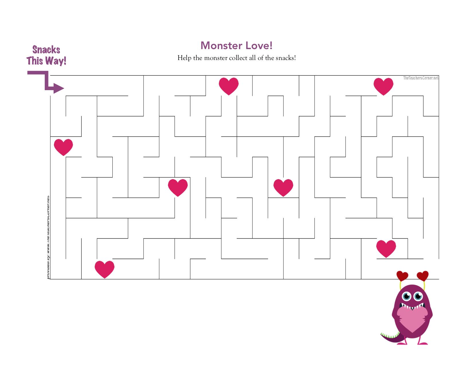 cpb - monster love maze
