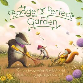 celebrate-picture-books-picture-book-review-badger's-perfect-garden-cover